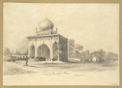 Mosque of Mustapha Khan, Bejapore [Bijapur]